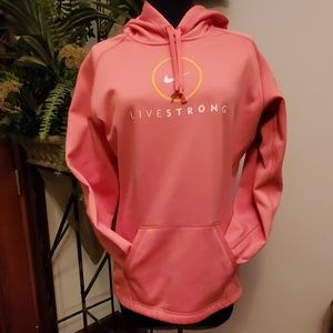 Nike Livestrong Therma-Fit Hoodie - Size M